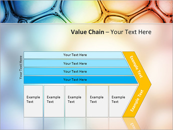 Des cercles de couleur de conception Modèles des présentations  PowerPoint - Diapositives 7