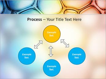 Des cercles de couleur de conception Modèles des présentations  PowerPoint - Diapositives 71