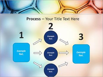 Des cercles de couleur de conception Modèles des présentations  PowerPoint - Diapositives 72