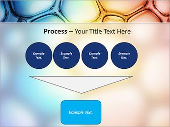 Des cercles de couleur de conception Modèles des présentations  PowerPoint - Diapositives 73