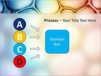Des cercles de couleur de conception Modèles des présentations  PowerPoint - Diapositives 74