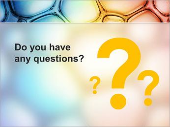 Des cercles de couleur de conception Modèles des présentations  PowerPoint - Diapositives 75