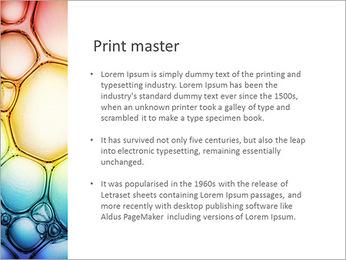 Des cercles de couleur de conception Modèles des présentations  PowerPoint - Diapositives 76