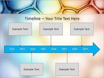 Des cercles de couleur de conception Modèles des présentations  PowerPoint - Diapositives 8