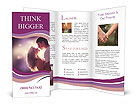 Passioned Couple Brochure Templates