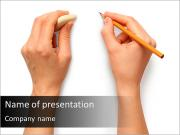 Pencil Drawing PowerPoint Templates