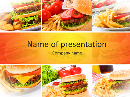 American food powerpoint template backgrounds id 0000004525 american food powerpoint templates toneelgroepblik Images