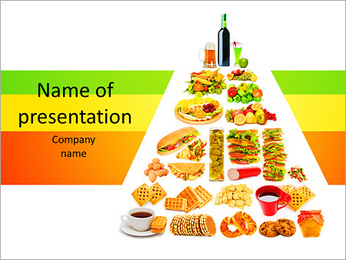 Balanced Eating PowerPoint Template