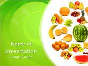 Healthy Food Benefits PowerPoint Templates