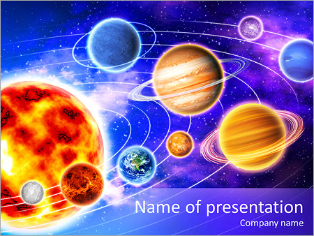 planets system powerpoint template backgrounds google slides id
