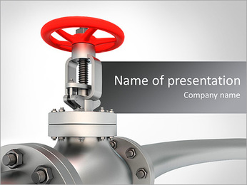 Metal Pipe PowerPoint Template