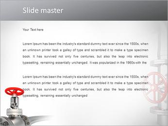 Tuyau de métal Modèles des présentations  PowerPoint