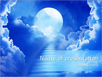 Way To Heaven PowerPoint Template