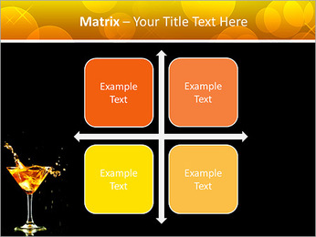 Martini PowerPoint Template - Slide 17
