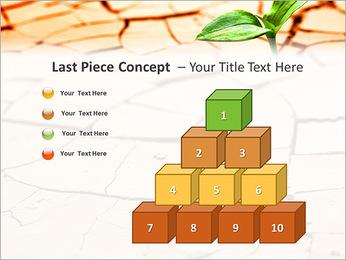 Fissure dans le sol Modèles des présentations  PowerPoint - Diapositives 11