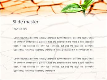 Fissure dans le sol Modèles des présentations  PowerPoint - Diapositives 2