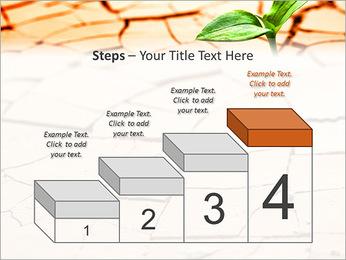 Fissure dans le sol Modèles des présentations  PowerPoint - Diapositives 44