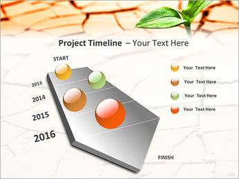 Fissure dans le sol Modèles des présentations  PowerPoint - Diapositives 6