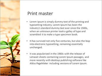 Fissure dans le sol Modèles des présentations  PowerPoint - Diapositives 76