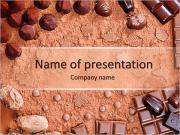 Chocolate Candies PowerPoint Templates