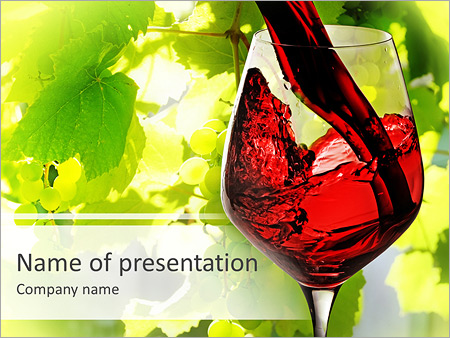 Red wine powerpoint template backgrounds id 0000004657 red wine powerpoint templates toneelgroepblik Gallery
