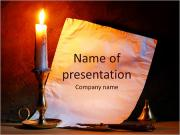 Candle PowerPoint Templates