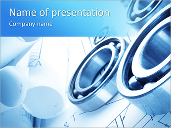 Metal Mechanism PowerPoint Template