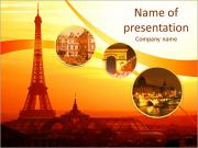 Capital Of France PowerPoint Templates