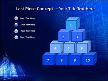 Arranha-céu de Projetos Modelos de apresentações PowerPoint - Slide 11