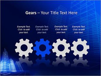 Arranha-céu de Projetos Modelos de apresentações PowerPoint - Slide 28