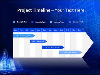 Arranha-céu de Projetos Modelos de apresentações PowerPoint - Slide 5