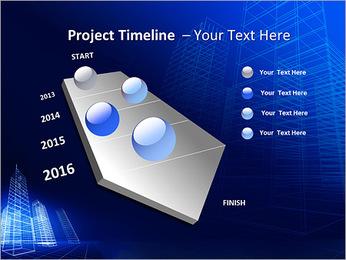 Arranha-céu de Projetos Modelos de apresentações PowerPoint - Slide 6
