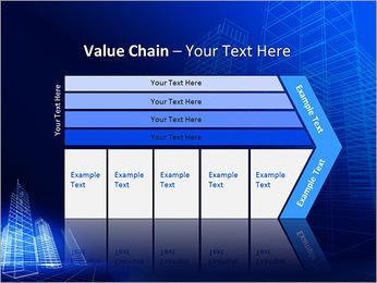 Arranha-céu de Projetos Modelos de apresentações PowerPoint - Slide 7