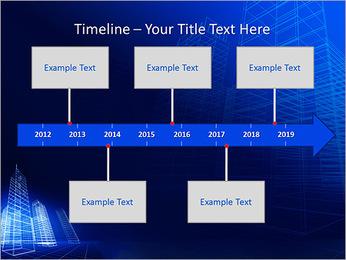 Arranha-céu de Projetos Modelos de apresentações PowerPoint - Slide 8