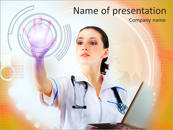 Medical Modern Technologies PowerPoint Template