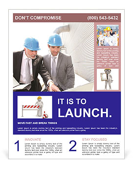approving construction project flyer template design id 0000004702