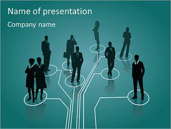 Estructura € ™ s Companieâ Plantillas de Presentaciones PowerPoint
