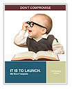 Baby Wears Glasses Word Templates