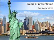 New york city powerpoint template backgrounds id 0000004725 new york city powerpoint template toneelgroepblik Images
