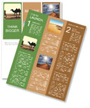 Man With Camel Newsletter Template