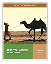 Man With Camel Word Templates