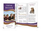 Boys With Dog Brochure Templates