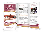 Red Cabriolet Brochure Templates