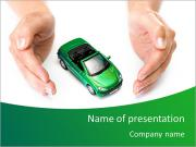 Green Car PowerPoint presentationsmallar