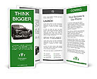 Black Retro Car Brochure Templates