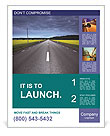 Road In Countryside Poster Templates