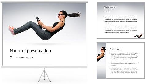 Drive womanâ € ™ Modèles des présentations  PowerPoint