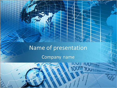 international business sphere powerpoint template backgrounds