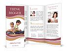 Children With Laptop Brochure Templates