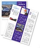 Car Crash Newsletter Template